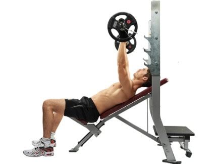 Incline Bench Press Angle by The Ultimate 20s Workout S Health