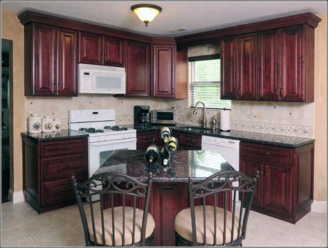 mahogany cabinets with granite countertops edgarpoe net