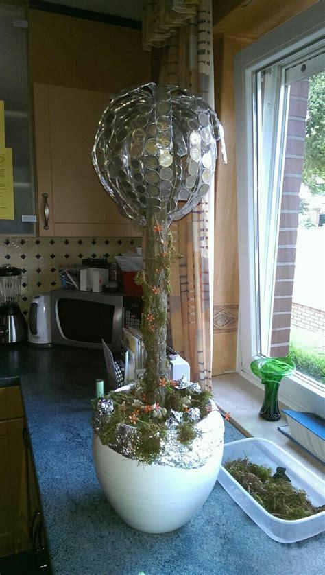 geschenke zur silberhochzeit selber machen geldbaum zur silberhochzeit bastelideen geldgeschenke