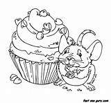 Muffin Coloring Mouse Jadedragonne Cupcake Eats Adoptable Printable Animal Template Birthday Deviation Adopted Openly Everyone Been Suggested Donation Cutie Pie sketch template