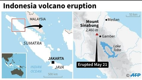 villages  ashes  deadly indonesia volcano eruption