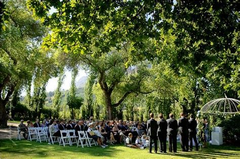 20 garden outdoor wedding venues cape town gardens