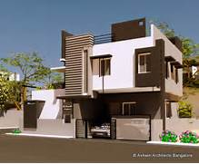 Home Design Idea by Beautiful Front Elevation House Design By Ashwin Architects