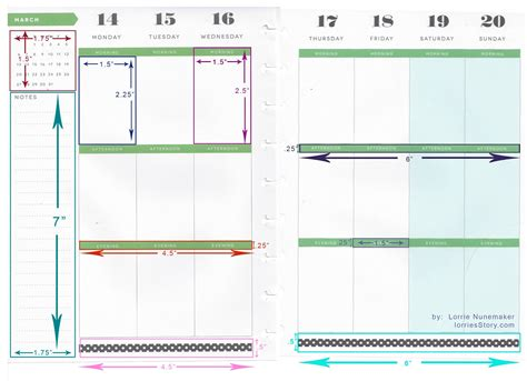 happy planner page template lorrie s story happy planner dimensions