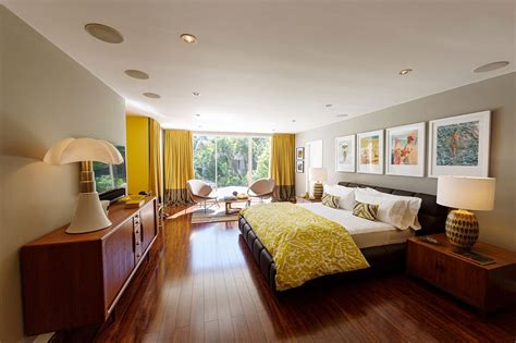 Suite Sofas mid century modern beverly hills residence vintage style