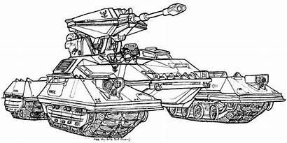 Tank Scorpion Battle Drawing Halo M808 Deviantart