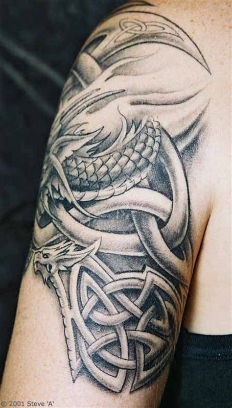 celtic arm tattoos  men tonys celtic knots