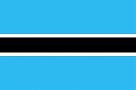 Fondos de Pantalla Botswana Bandera Tiras descargar imagenes