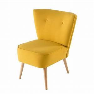 Maison Du Monde Sessel : poltrona vintage gialla maisons du monde ~ Watch28wear.com Haus und Dekorationen