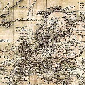 Alte Weltkarte Poster : antike weltkarte ii leinwand bild auf keilrahmen alt vintage antik poster ebay ~ Markanthonyermac.com Haus und Dekorationen