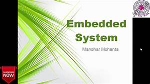 Basic About Embedded System And Block Diagram