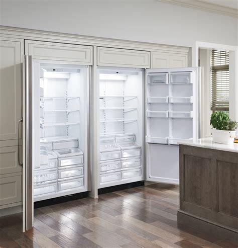 monogram  built   refrigerator zirnhrh ge appliances