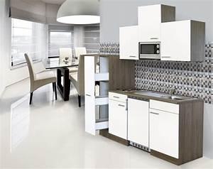Küchenzeile Mit Aufbau : k che k chenzeile singlek che einbau k chenblock 180 cm eiche york wei respekta ebay ~ Eleganceandgraceweddings.com Haus und Dekorationen