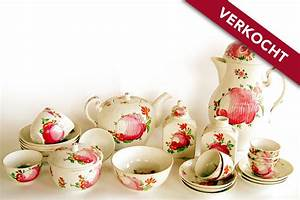 Teeservice Ostfriesische Rose : koffie en theeservies kunst en antiek ~ Watch28wear.com Haus und Dekorationen