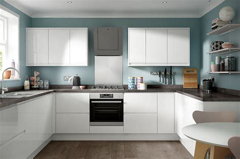 white gloss kitchen designs soho gloss white kitchen modern style range benchmarx 1314