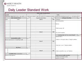Leader Standard Work