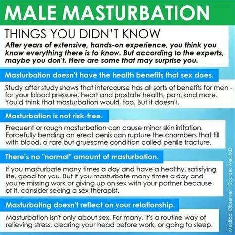 Male Masterbation Health Pinterest
