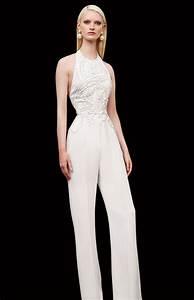 Jumpsuit Mit Schleppe : 25 unconventional bridal pants suits for the modern bride bridal pant suits wedding ~ Frokenaadalensverden.com Haus und Dekorationen
