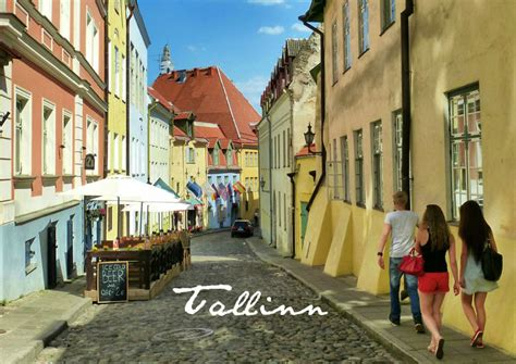 Mittelalter Trifft Moderne  24 Stunden In Tallinn