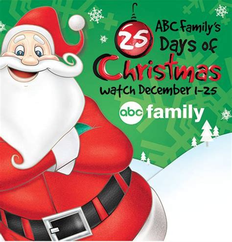 freeform abc family  days  christmas movies schedule