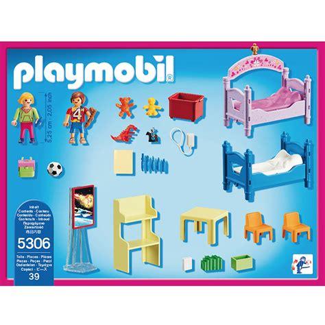 magasin chambre bébé chambre d 39 enfants avec lits superposés playmobil dollhouse