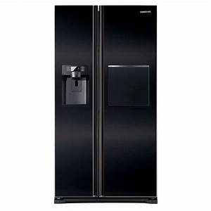 Refrigerateur Noir 1 Porte : refrigerateur noir samsung ~ Melissatoandfro.com Idées de Décoration