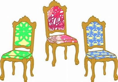 Chair Chairs Clipart Three Graphic Cliparts Clip