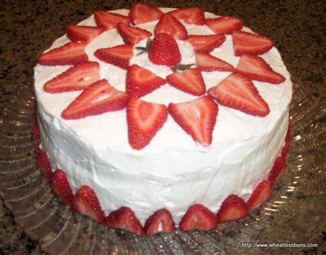strawberry cake gluten   carb wheatless buns