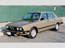1986 BMW 528e German Cars For Sale Blog