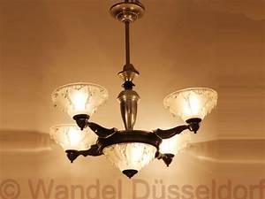Art Deco Deckenleuchte : 02095 art deco deckenleuchte vierarmig wandel antik ~ Sanjose-hotels-ca.com Haus und Dekorationen