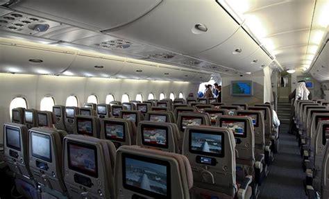 cabine de avec siege embarquement pour la nouvelle zélande à bord de l 39 avion a380