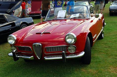 1959 Alfa Romeo by 1959 Alfa Romeo 2000 Spider At The Pvgp Car Show