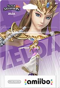 Zelda Amiibo Figure By Nintendo Super Smash Bros Series