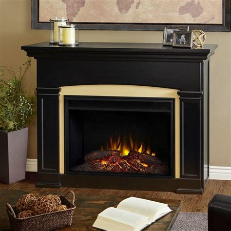 real flame holbrook   grand series electric fireplace