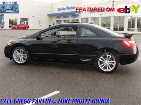 Used 2008 Honda Civic Si Coupe For Sale
