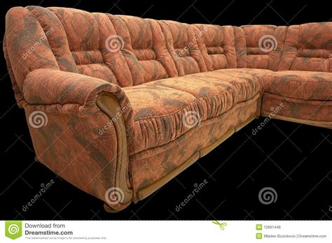 classic corner sofa stock photo image   wood