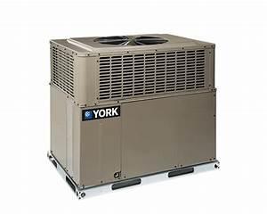 3 Ton York 14 Seer Lx Series Heat Pump Phe4b3621 Package Unit