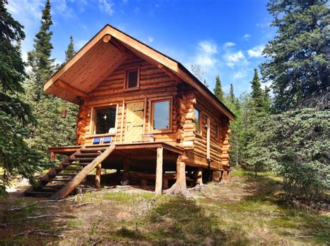 Log Cabin Tiny House Alaska