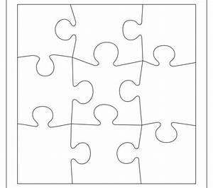 magnificent 9 piece puzzle template pictures inspiration With giant puzzle template