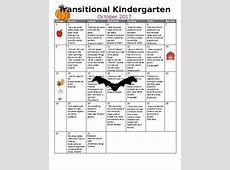 TK PreK Transitional Kindergarten Monthly Homework