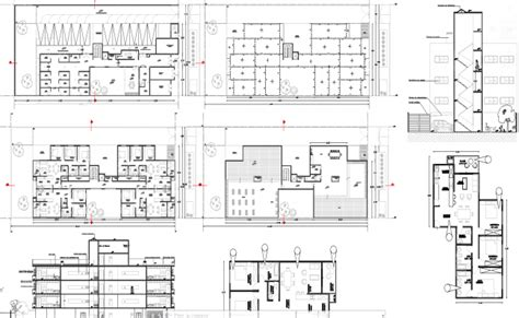 2 bhk flat design 2 and 3 bhk apartment architecture design in autocad dwg files