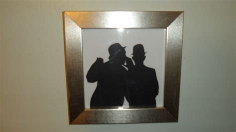 laurel  hardy silhouettes    silhouette art