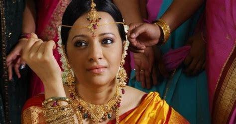 reema sen yellow traditional sari saree blouse patterns
