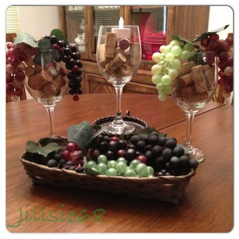 dollar tree wine themed decorationsjust added wine