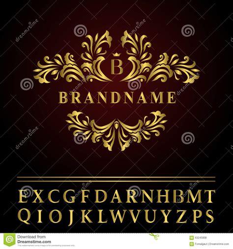 monogram design elements graceful template elegant  art logo design business gold emblem