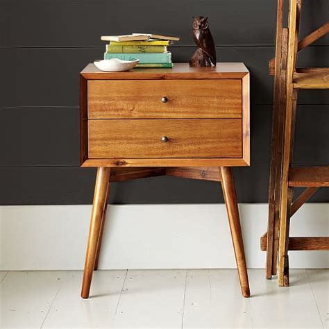 mid century nightstand mid century nightstand acorn west elm