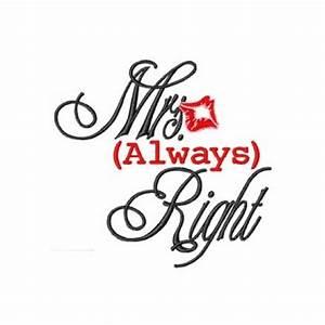 Mrs Always Right : mrs always right logo embroidered bathrobe ~ Eleganceandgraceweddings.com Haus und Dekorationen