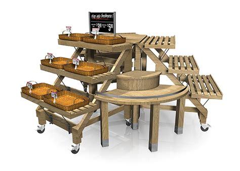 retail produce display tables display rack signature series fixture kit produce