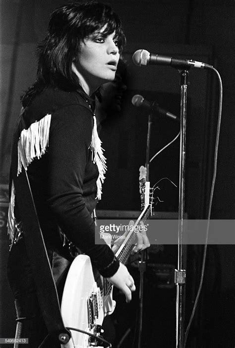 American singer-songwriter and guitarist Joan Jett ...