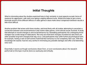 essay on video game violence     video game violence essays